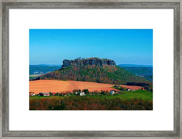 The Lilienstein Framed Print