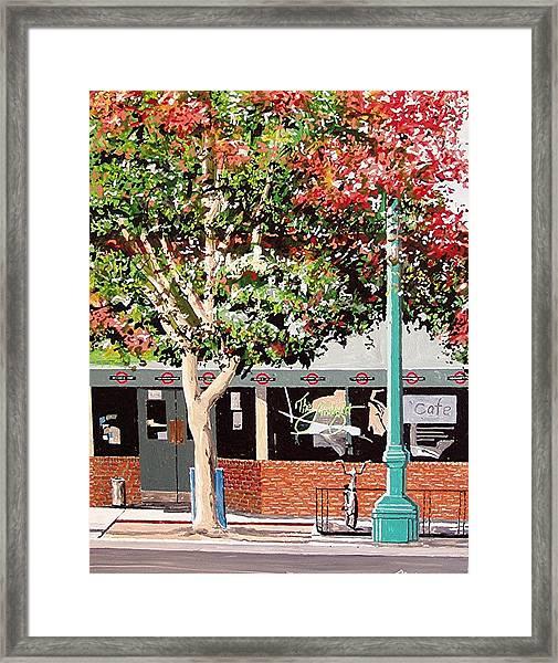 The Limelight Framed Print by Paul Guyer