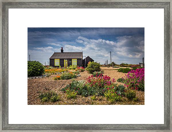 The Little House. Framed Print