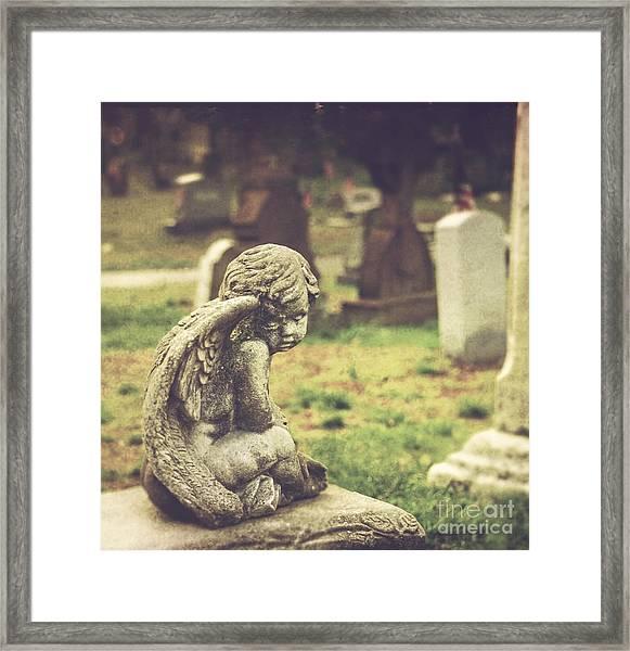 The Littlest Angel Framed Print