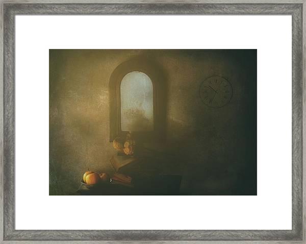The Living Room Framed Print by Delphine Devos