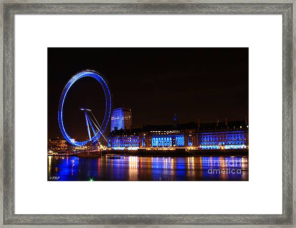 The London Eye  Framed Print by Size X