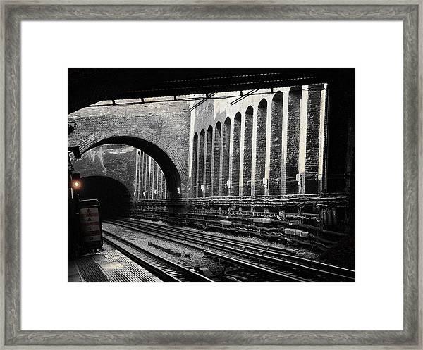 The London Underground  Framed Print