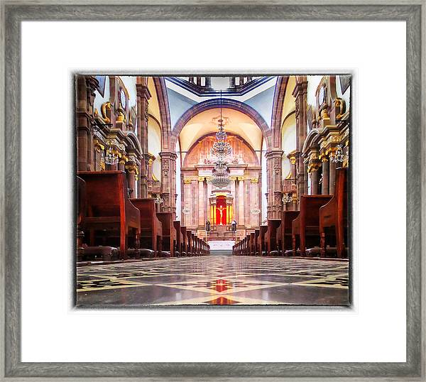The Long Walk Framed Print