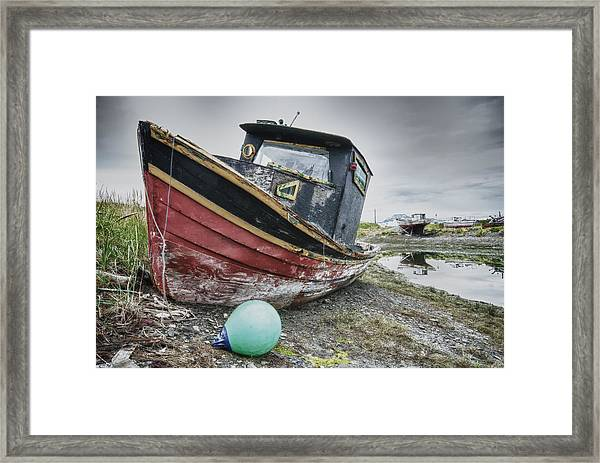 The Lost Fleet Beached Framed Print