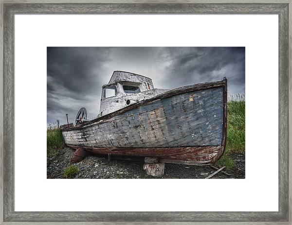 The Lost Fleet Dry Dock Framed Print