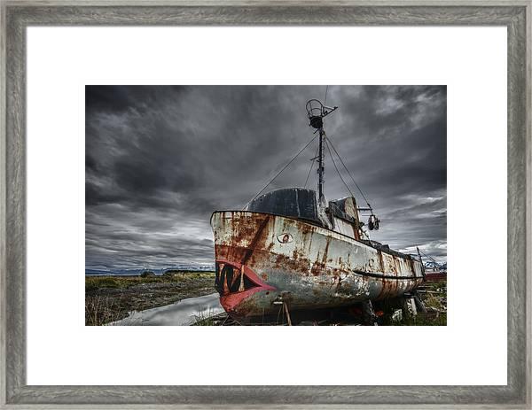 The Lost Fleet Jaws Framed Print