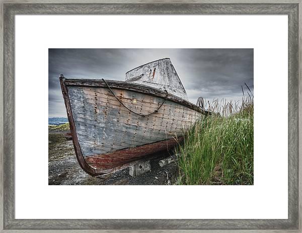 The Lost Fleet Low Tide Framed Print