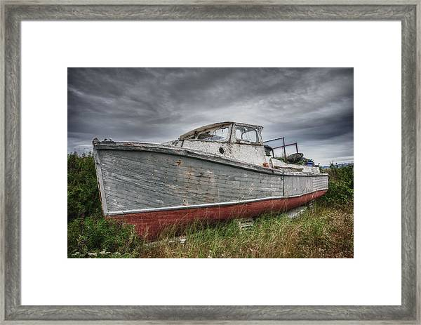The Lost Fleet Run Aground Framed Print