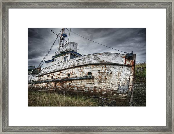 The Lost Fleet Weathering The Storm Framed Print