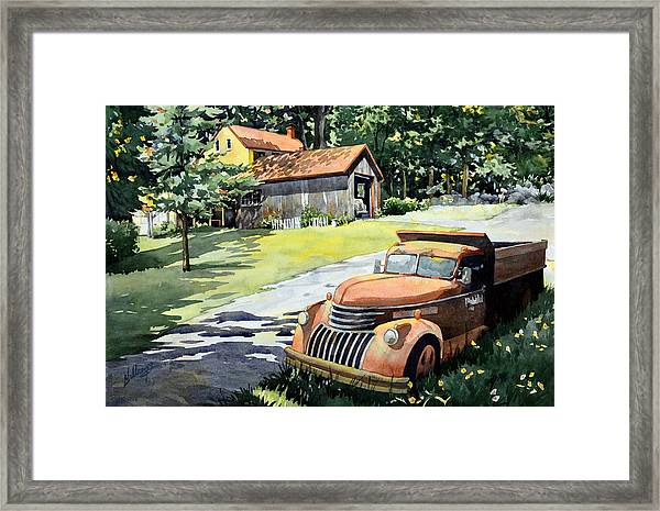 The Lost Ones Framed Print
