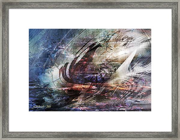 The Lost Ship IIi Framed Print