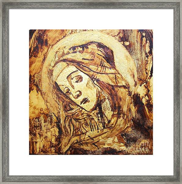 The Madonna Of Medjugorje,  Framed Print