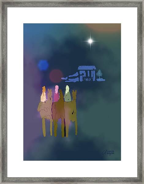 The Magi Framed Print