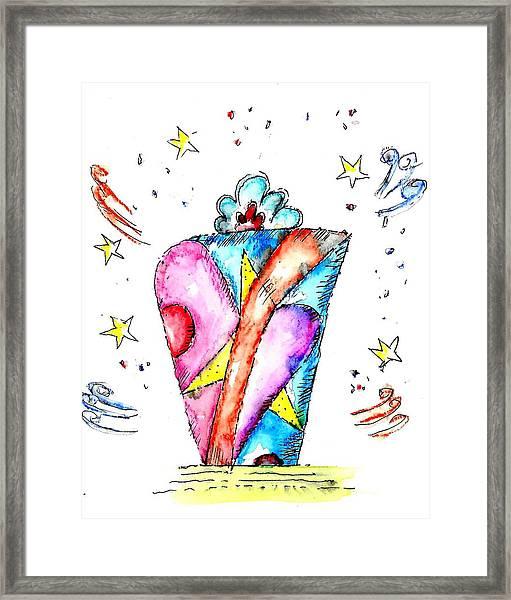 The Magic Box Framed Print