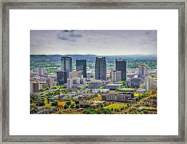 The Magic City Framed Print