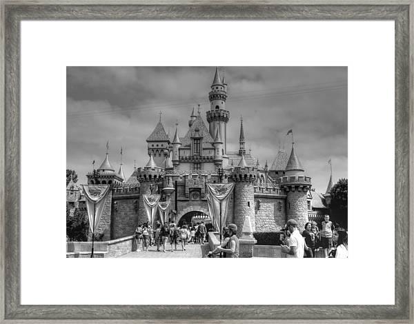 The Magic Kingdom Framed Print