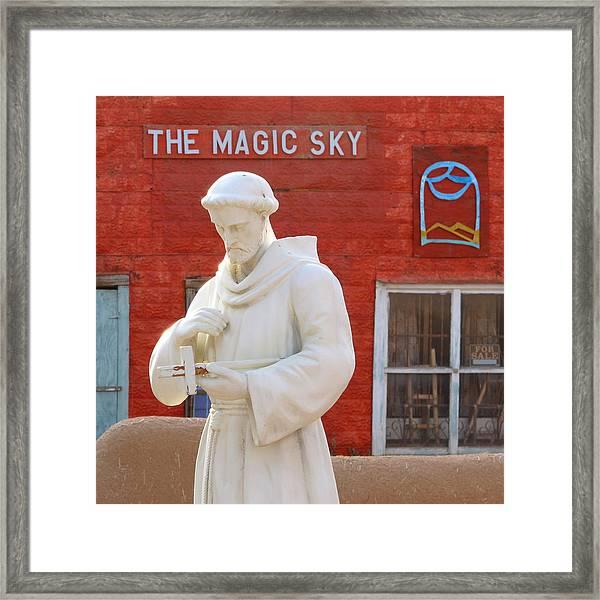 The Magic Sky Framed Print