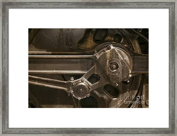 The Main Drive Rod Framed Print