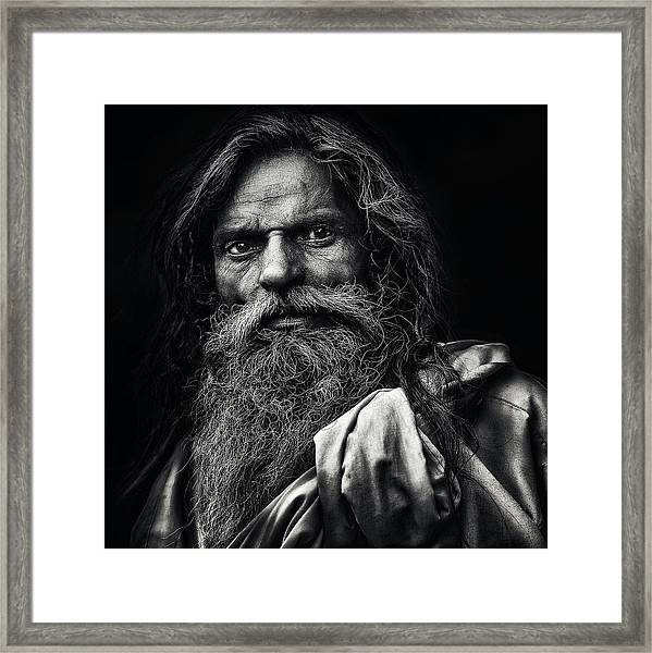 The Man From Agra Framed Print