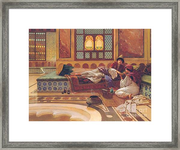 The Manicure Framed Print