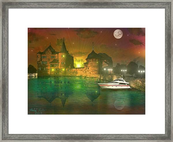 The Mansion Framed Print by Michael Rucker