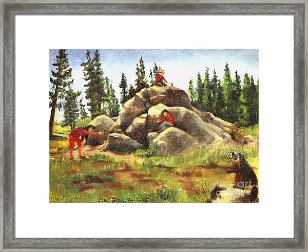 The Marmot Palace Framed Print