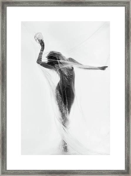 The Mask Dance Framed Print