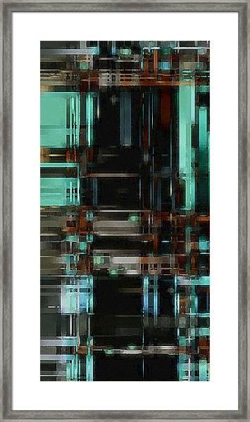 The Matrix 3 Framed Print