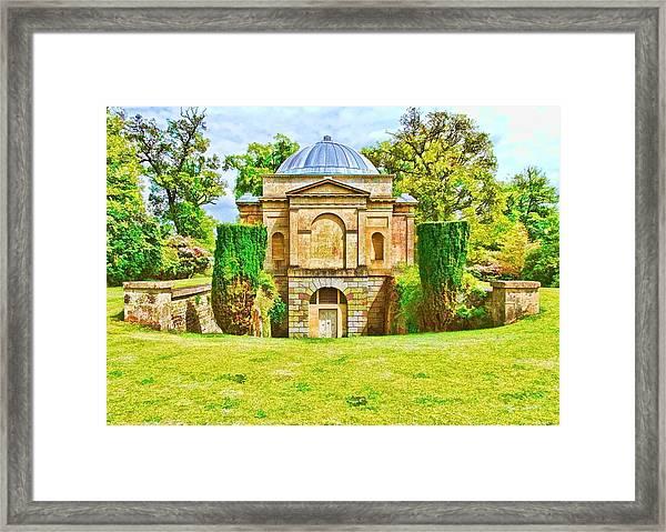 The Mausoleum Bowood -01 Framed Print