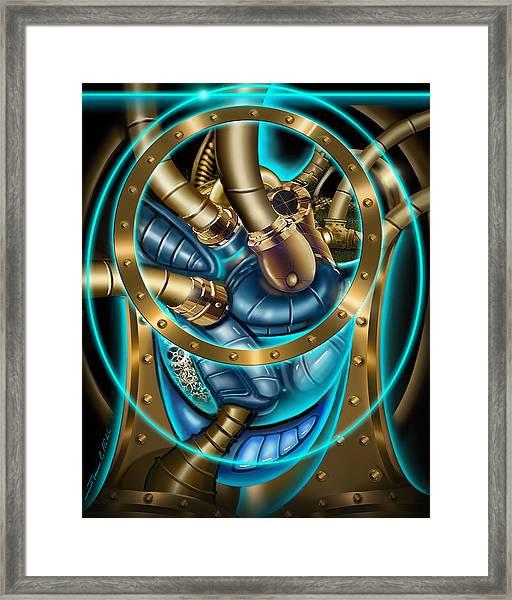 The Mechanical Heart Framed Print