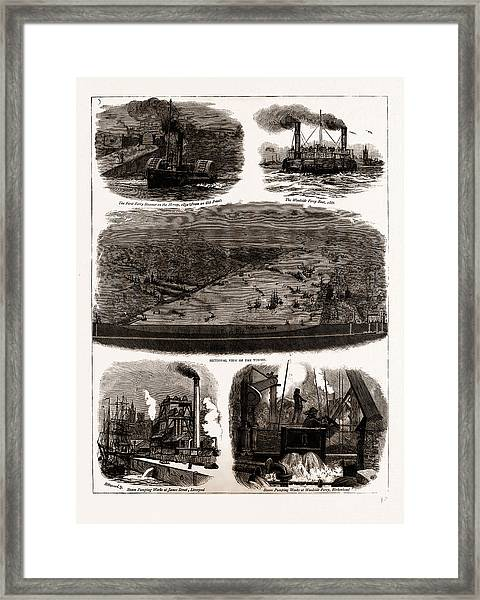 The Mersey Tunnel Opened By The Prince Of Wales Framed Print