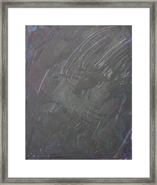 The Message Framed Print by Corey Haim