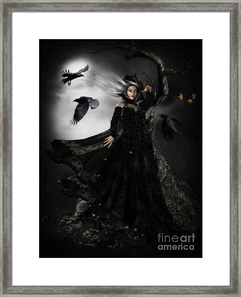 The Messengers Framed Print