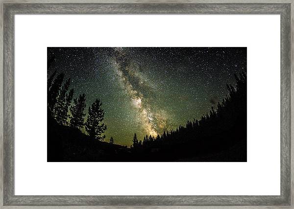 The Milky Way 001 Framed Print