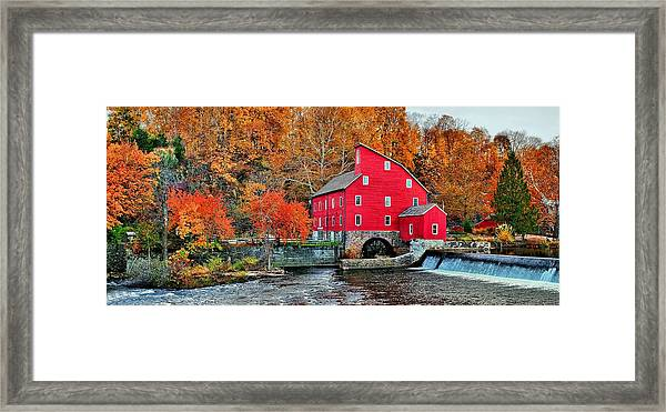 The Mill In Clinton Framed Print
