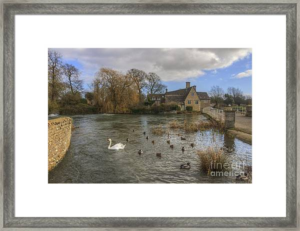 The Millhouse At Fairford Framed Print