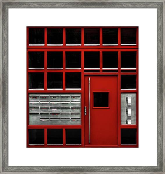 The Missing Box Framed Print