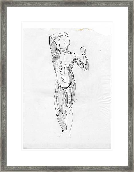 The Modern Age - Homage Rodin Framed Print