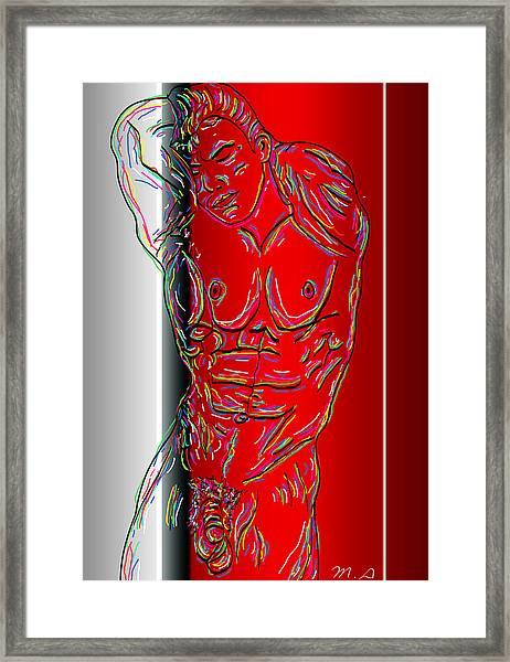 The Modern Man 3 Framed Print