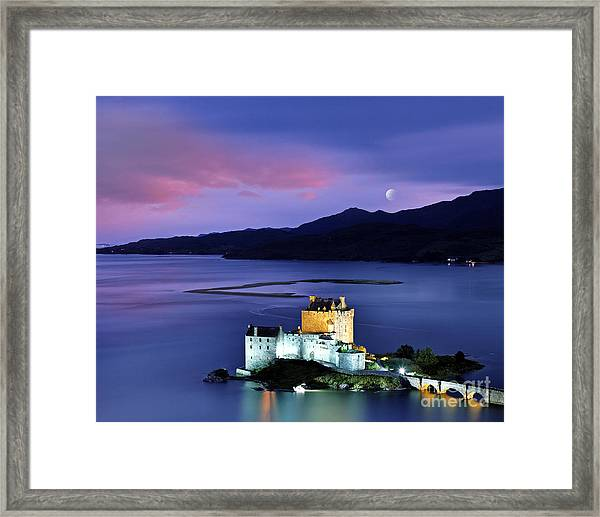 The Moon Above Framed Print