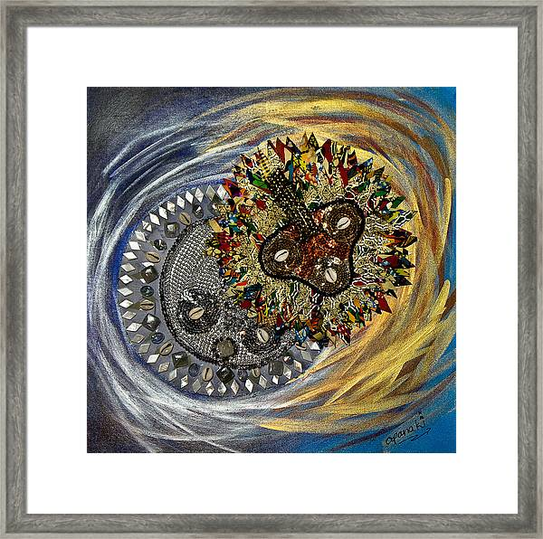 The Moon's Eclipse Framed Print