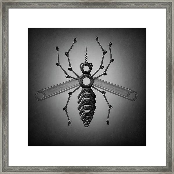 The Mosquito Framed Print