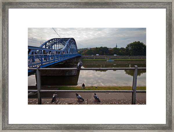 The Most Pilsudskiego Bridge Framed Print