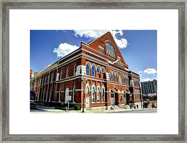 The Mother Church Framed Print