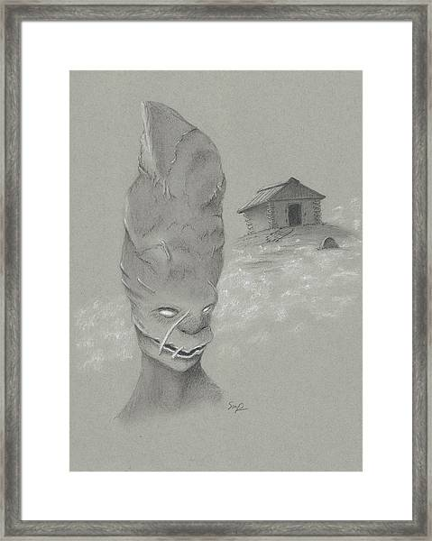 The Mummy Aka Uncle Ned Framed Print
