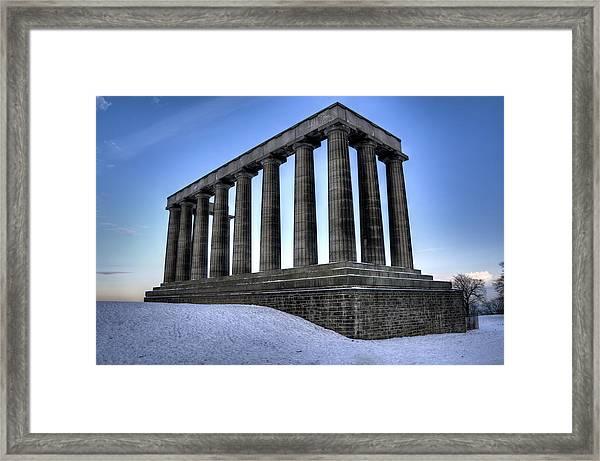 The National Monument Framed Print