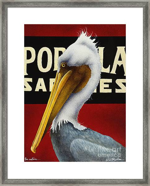 The Native... Framed Print by Will Bullas