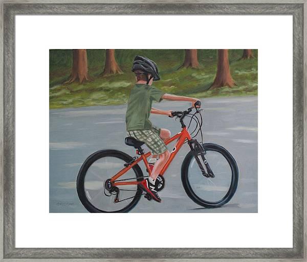 The New Bike Framed Print
