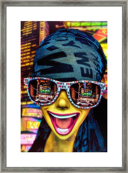 The New York City Tourist Framed Print